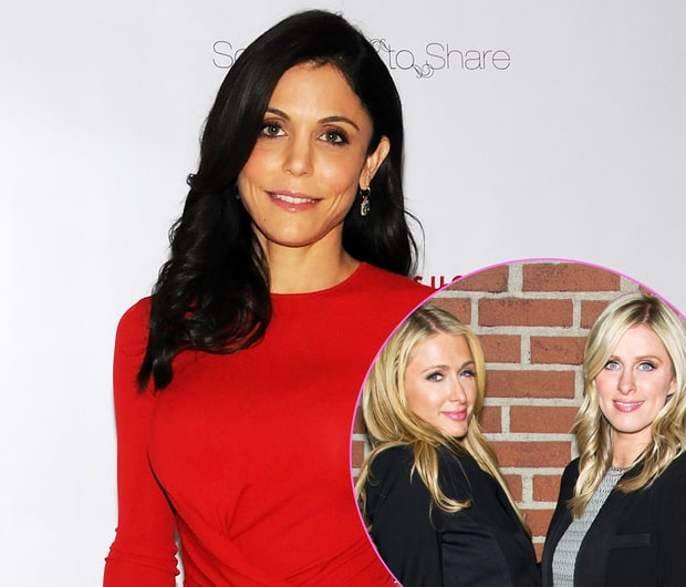 Bethenny Frankel and Paris and Nicky Hilton