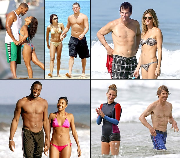 Hottest Beach Couples