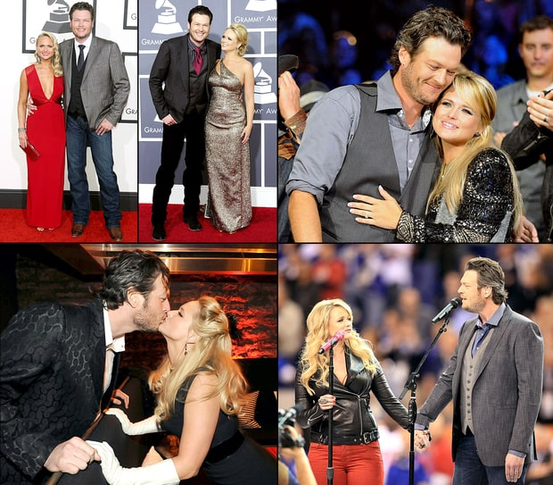 Blake Shelton and Miranda Lambert: The Way They Were