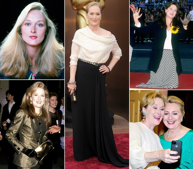 Meryl Streep Photos: The Oscar Winner Through the Years