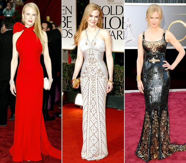 Nicole Kidman's Best Red Carpet Moments
