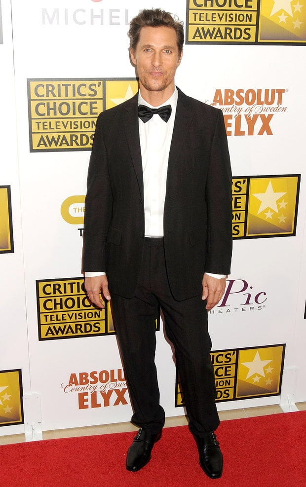 Matthew McConaughey: Critics' Choice TV Awards 2014