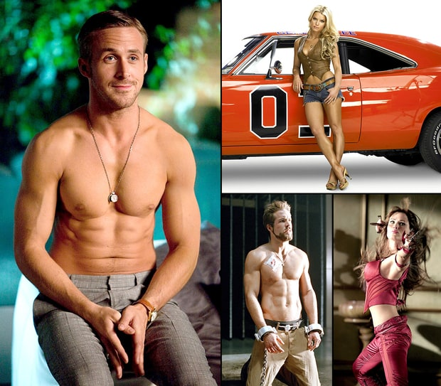 Celebs' Best Shapes Ever in Movie Roles