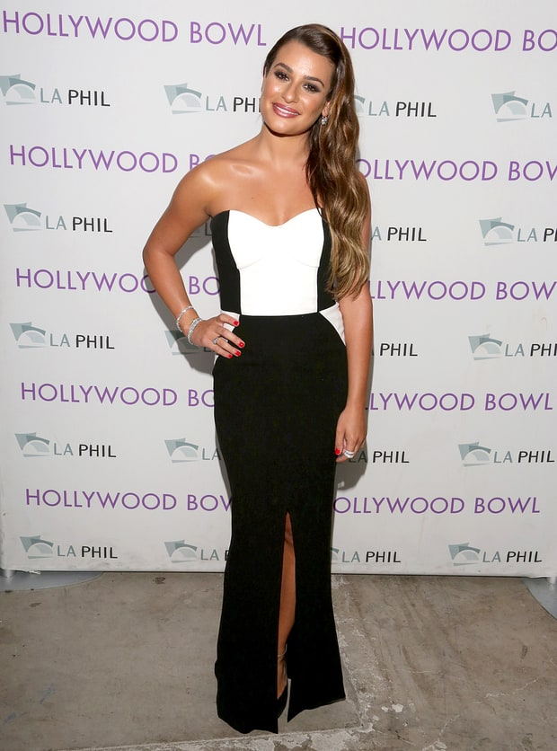 Lea Michele: Hollywood Bowl Opening Night