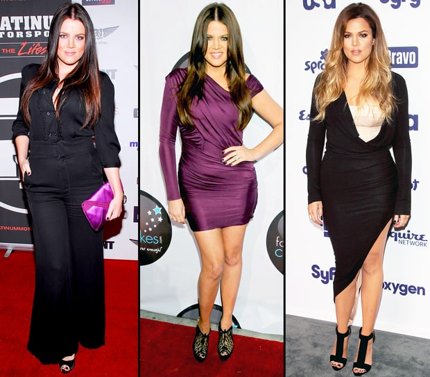 Khloe Kardashian's Body Evolution