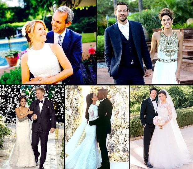 Celebrity Wedding: Celebrity Weddings 2014