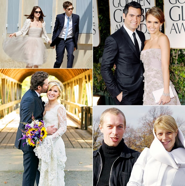 Simple Celebrity Weddings: Stars Who Had No-Fuss Nuptials