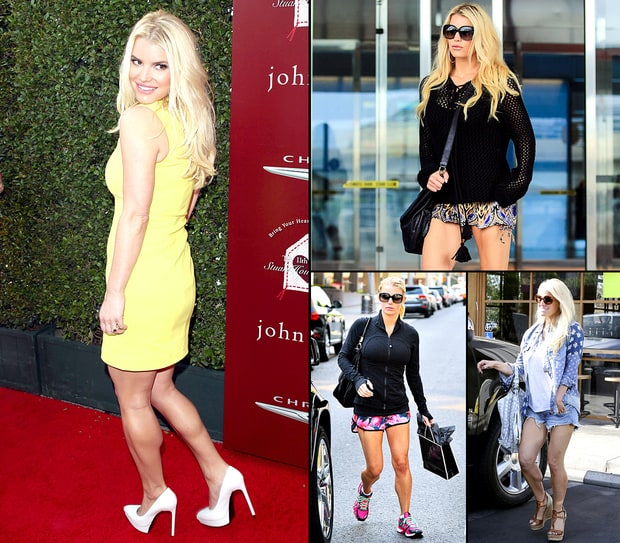 Jessica Simpson's Insanely Toned Legs