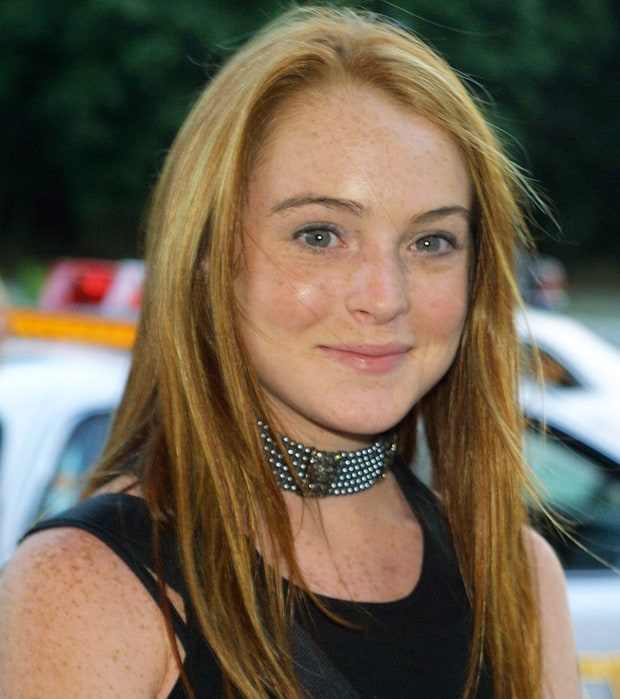 Lindsay Lohan's face h...