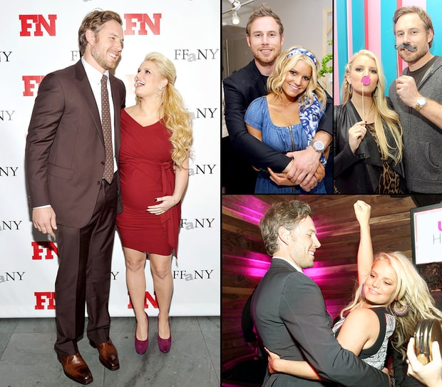 Jessica Simpson and Eric Johnson's Sweetest PDA Moments