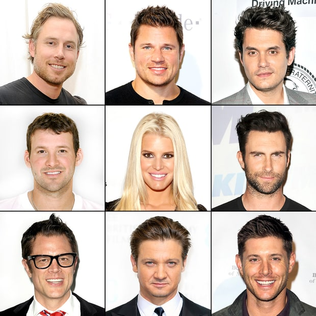 Jessica Simpson's Many Men