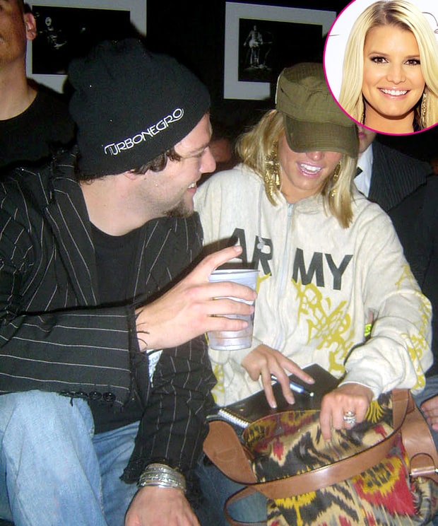 bam margera jessica simpsons many men us weekly