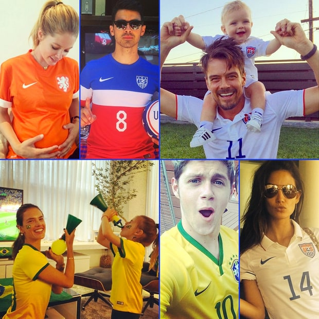 Celebrity 2014 World Cup Fans