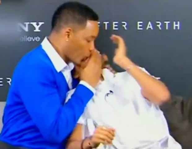 The Time When Will Smith Locked Lips With Jaden on TV