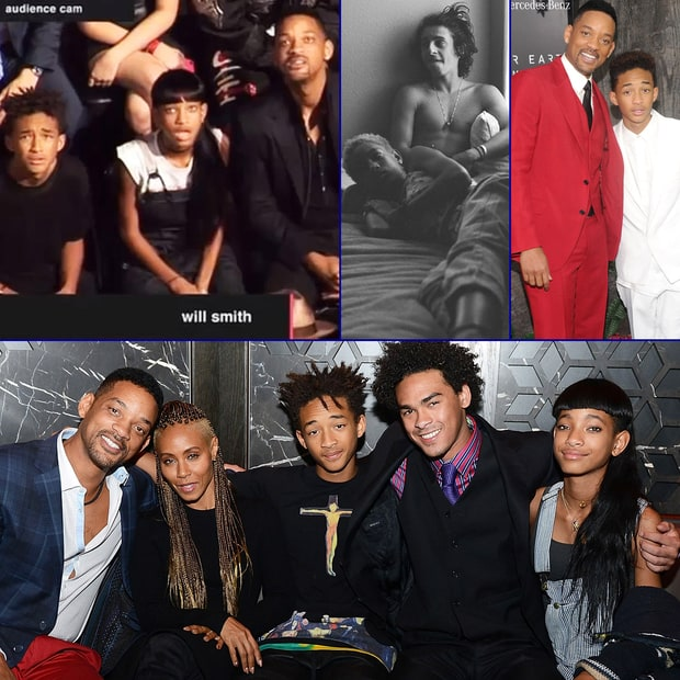 Will and Jada Pinkett Smith's Wacky Family