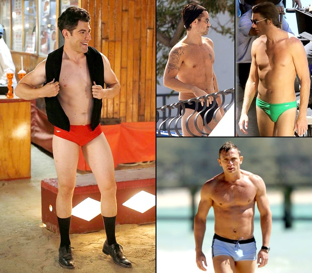 Celeb Guys in Speedos