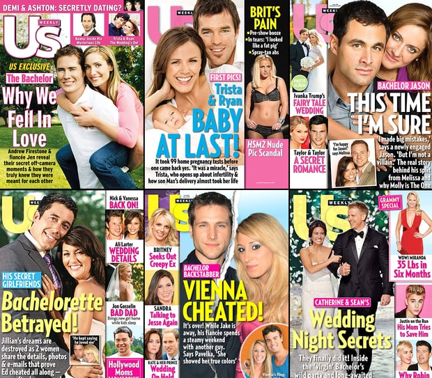Bachelor Us Weekly Covers