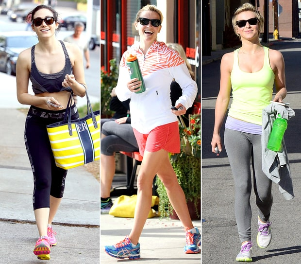 Celeb Workout Clothes