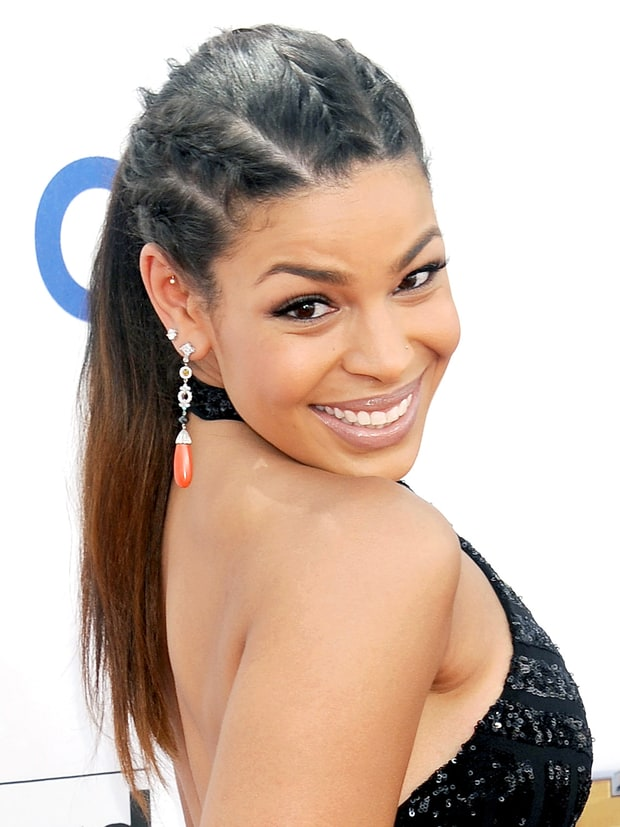 Sensational Celebs39 Braided Hairstyles On The Red Carpet Celebs39 Hot Braided Short Hairstyles Gunalazisus
