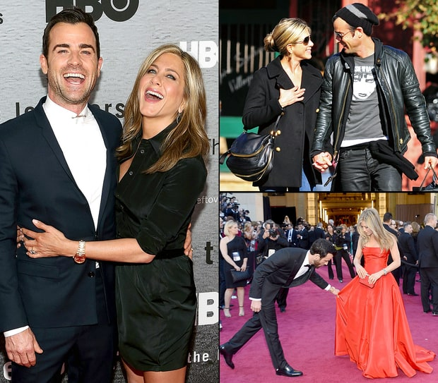 Jennifer Aniston and Justin Theroux's Love Timeline