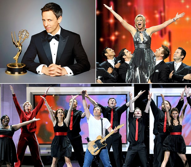 Emmy Hosts Through the Years