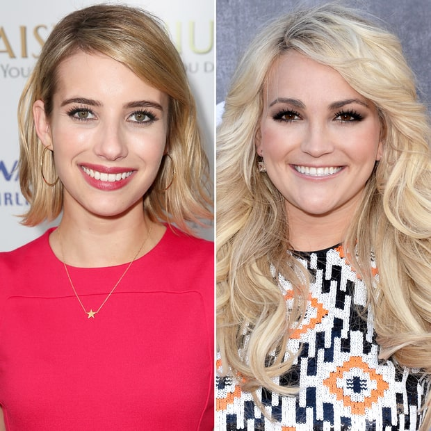 Emma Roberts and Jamie Lynn Spears