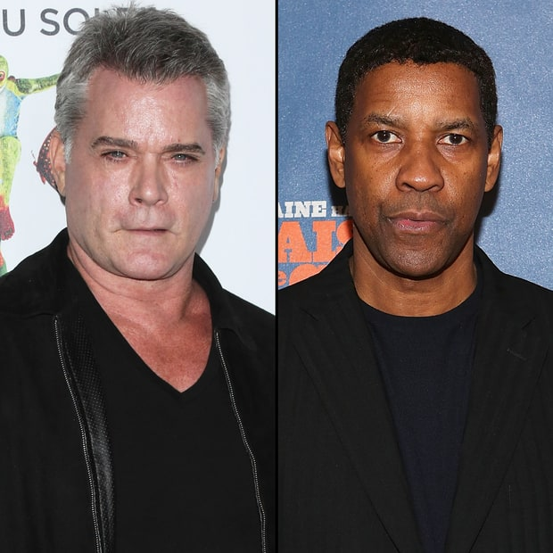 Ray Liotta and Denzel Washington
