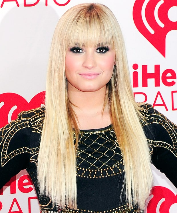 platinum blonde demi lovatos everchanging hair color
