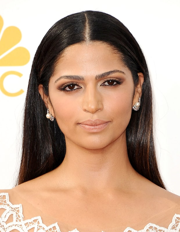 Camila Alves Muted Makeup Emmys 2014 Beauty Breakdown