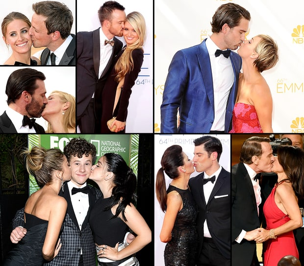 Celebrity PDA at the Emmys!