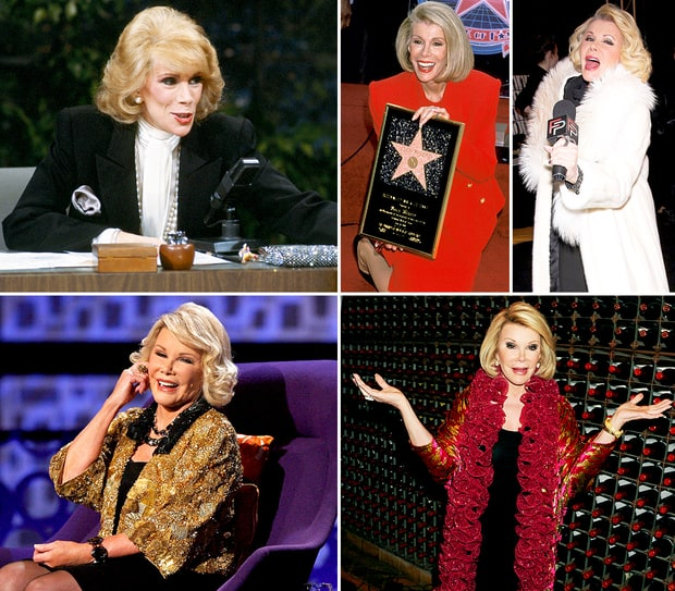 Joan Rivers' Comedy Career
