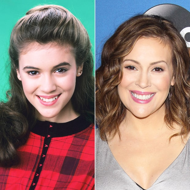 Alyssa Milano 80s Stars Then And Now Us Weekly