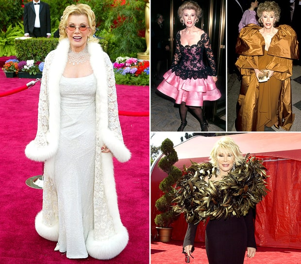 Joan Rivers Rates Her Biggest Fashion Disasters