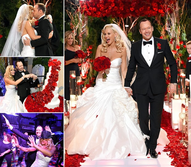Jenny McCarthy and Donnie Wahlberg's Wedding Album!