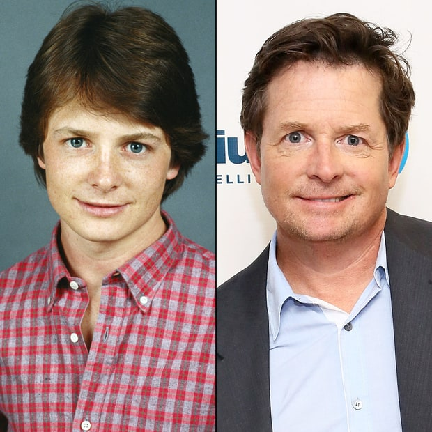 Michael J. Fox : u0026#39;80s Stars: Then and Now : Us Weekly