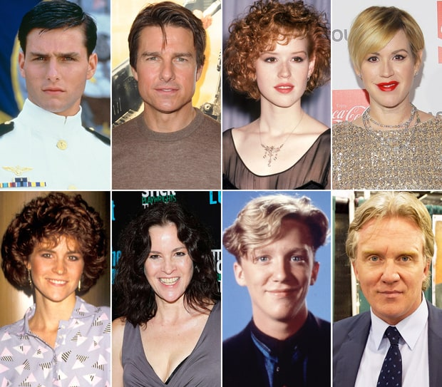 Actors from the 90s then and now
