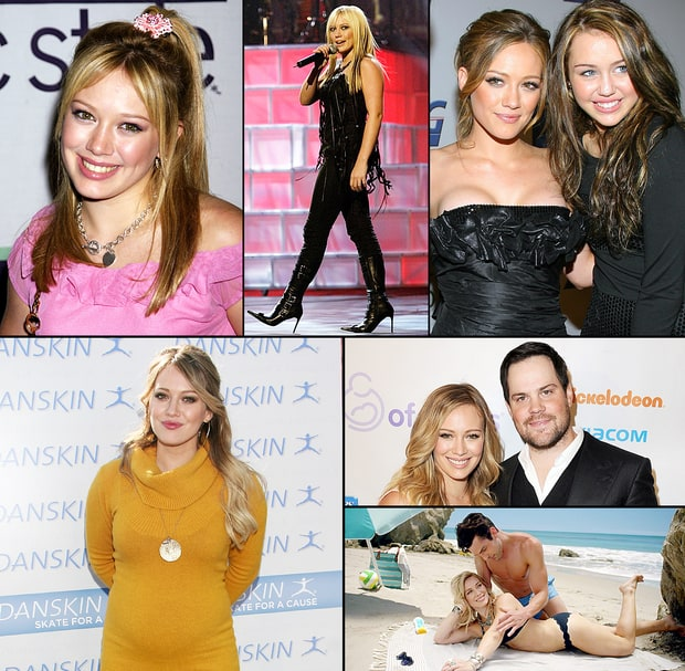Hilary Duff Through the Years
