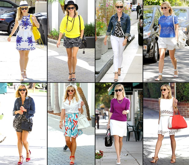 Reese Witherspoon's Cool Mom Street Style