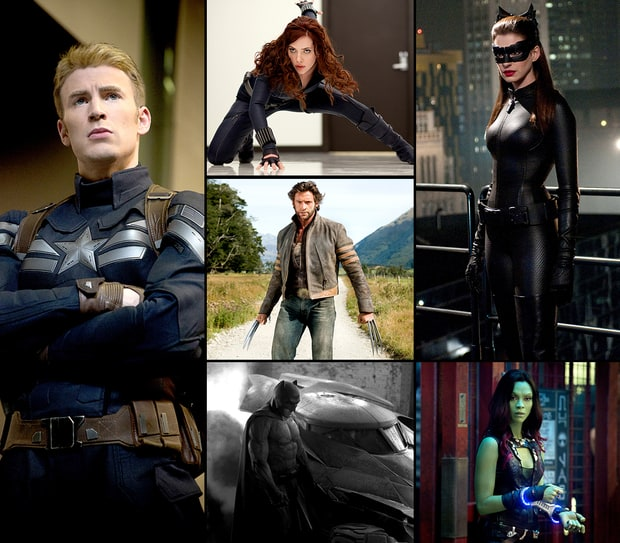 Stars As Superheroes