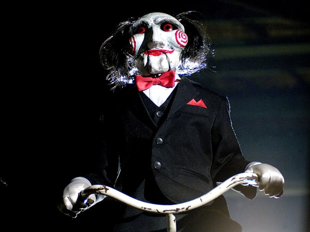 jigsaw saw scariest horror movie villains of all time