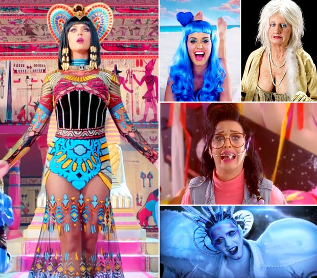 Katy Perry's Video Looks