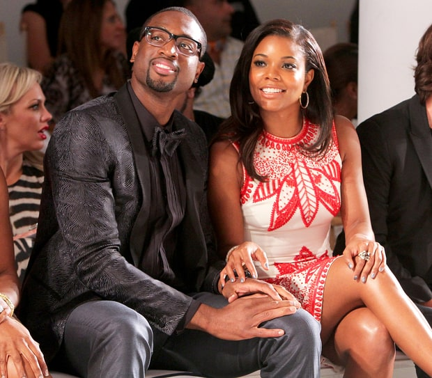 sept 27 2012 gabrielle union and dwyane wade through
