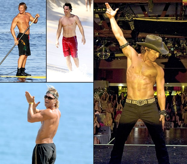 Hello, Hotness! Matthew McConaughey's Buff Body