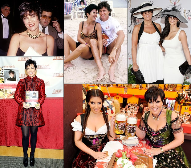 Kris Jenner Through the Years