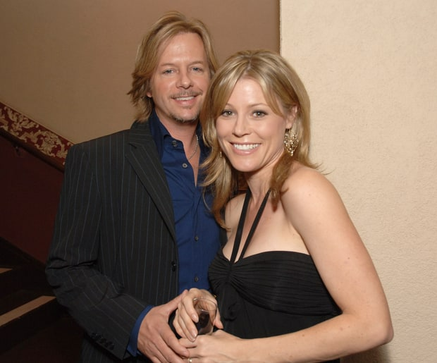 julie bowen and david spade unlikely celebrity couples