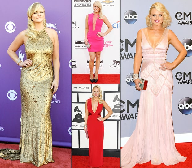 Miranda Lambert's Best Red Carpet Looks