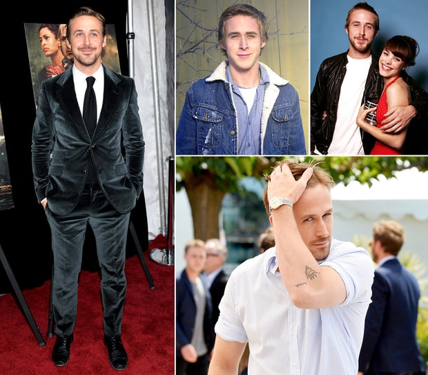 Ryan Gosling's Hotness Evolution
