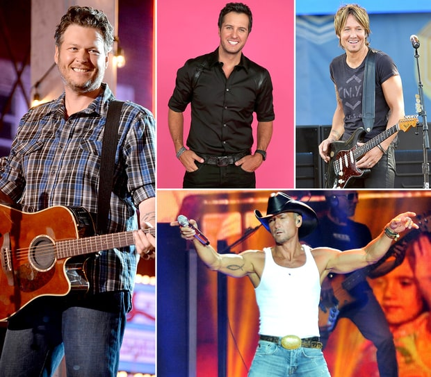 Country's Hottest Hunks