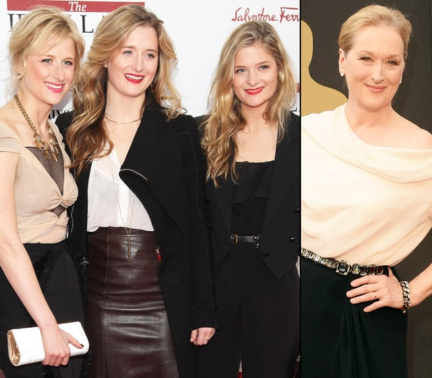 Meryl Streep and Daughters