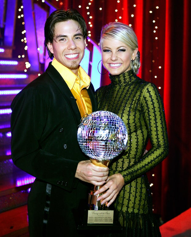 Julianne Hough and apolo ohno